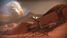 Mars dans Destiny, le jeu de Bungie