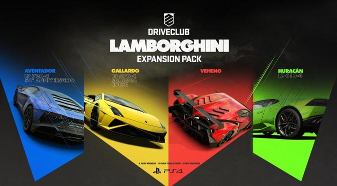 L'extension Lamborghini pour DriveClub présentée en vidéo